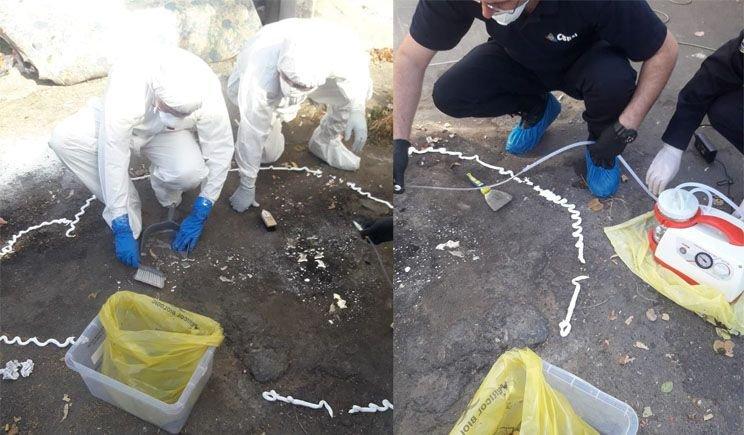 Două kilograme de mercur, găsite la o ghenă din Râmnicu-Vâlcea