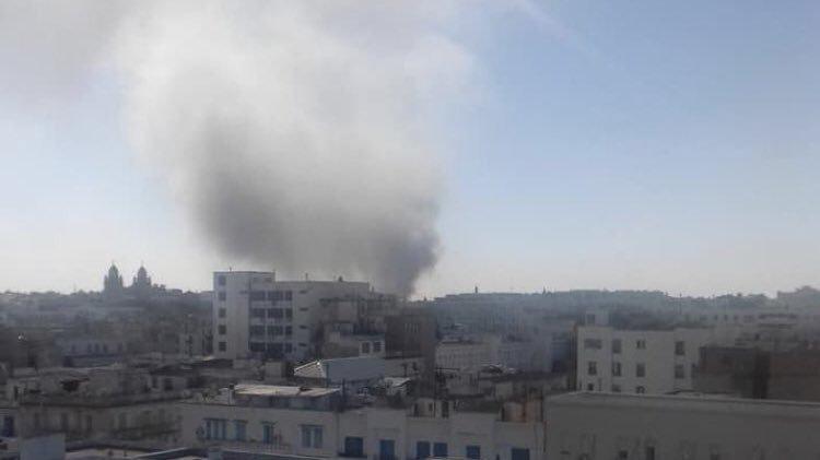 Atac terorist în centrul Tunisului! O femeie-kamikaze s-a aruncat în aer
