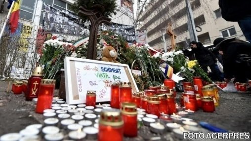 Marş în Capitală, la trei ani de la tragedia din Colectiv. Mii de persoane au adus un omagiu victimelor