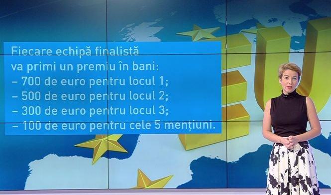 Be EU. Concurs european pentru elevi și profesori. Fiecare echipă finalistă va primi un premiu în bani