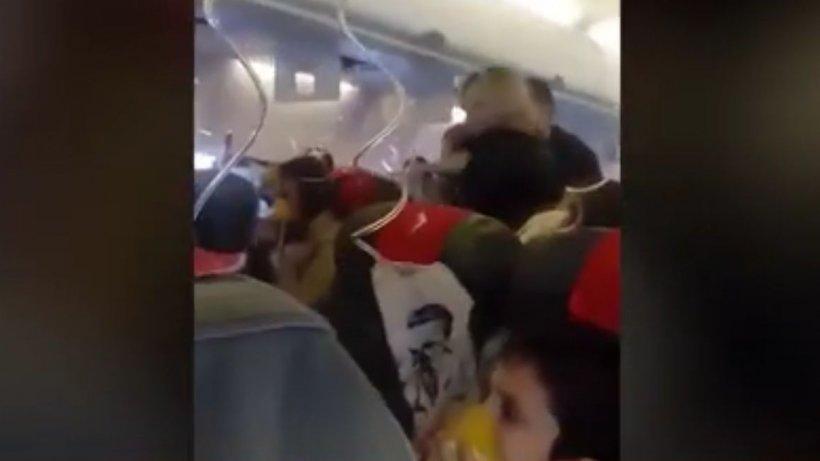 Momente de coşmar într-un avion care zbura pe ruta Cluj-Dublin. Ce s-a întâmplat după decolare - VIDEO
