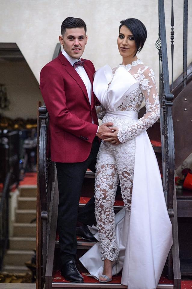 """""""Cea mai fericită zi din viaţa noastră"""". Fiica lui Piedone s-a căsătorit"""