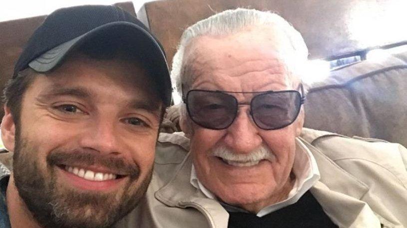 """Actorul Sebastian Stan, mesaj emoționant după moartea lui Stan Lee: """"Îţi mulţumesc. Nu aş fi aici fără tine"""""""
