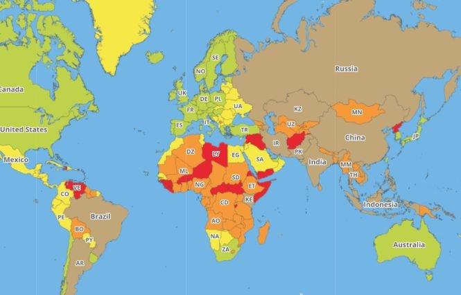 Acestea sunt cele mai periculoase țări pentru turiști. Topul care îți poate schimba planurile de vacanță