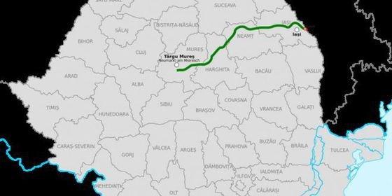 Cine va construi autostrada Târgu Mureş - Ungheni