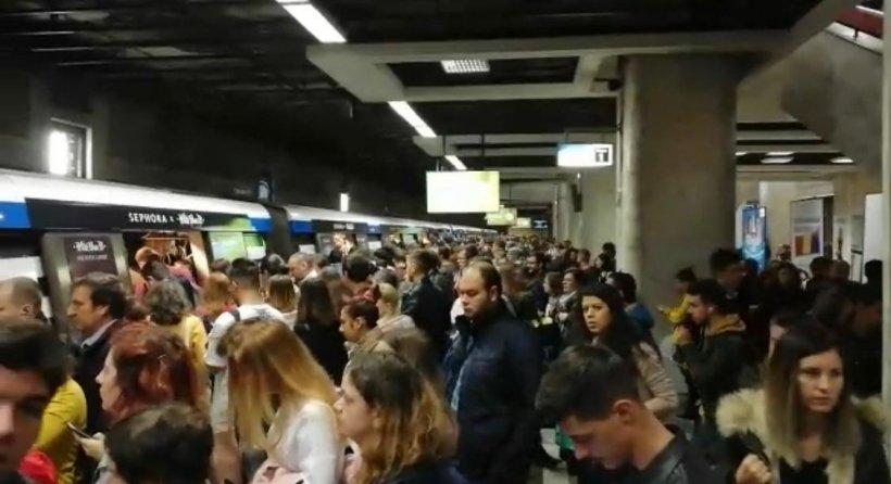Capitala, paralizată de greva de la metrou anunțată pentru miercuri