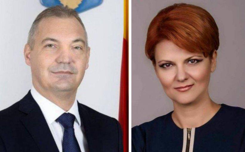 Mircea Drăghici, propus la Ministerul Transporturilor, iar Olguța Vasilescu la Ministerul Dezvoltării