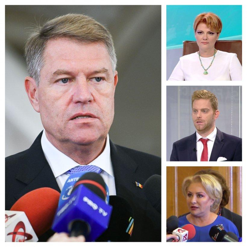 Planul PSD după refuzul lui Iohannis de a-i accepta pe Laufer și Vasilescu în Guvern