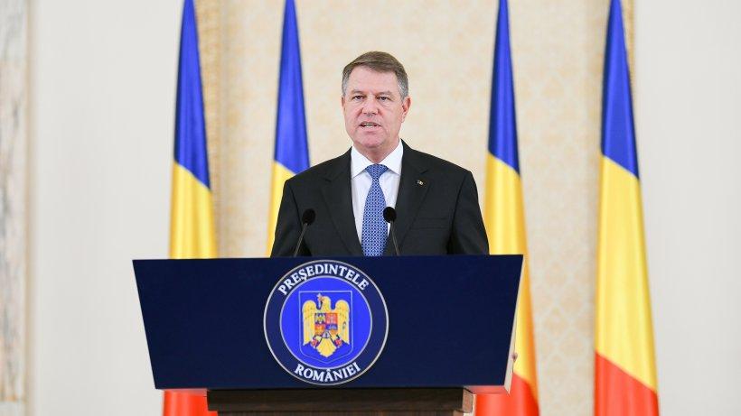 Președintele Klaus Iohannis va face declarații la 13:00