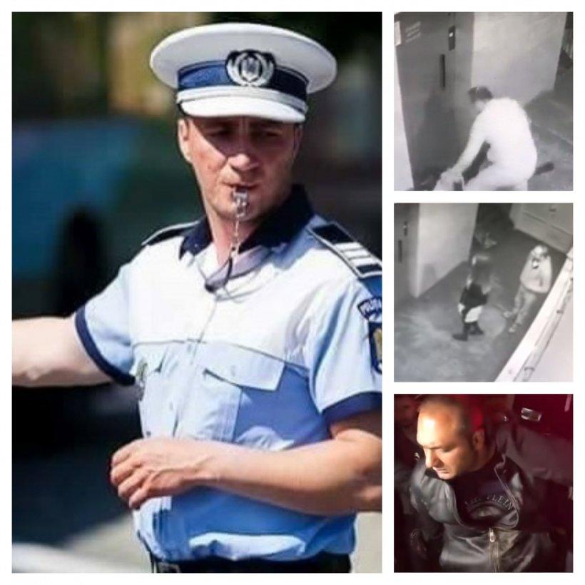 Reacția polițistului Mihai Godină, la imaginile cu atacatorul din scara unui bloc din Alba Iulia