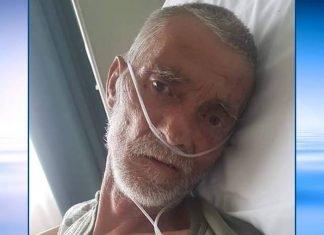 """""""Acest domn pe nume Budaș Daniel, este în Italia, în spital, fără acte, fără familie. Rog cei care îl cunosc să ia legătura cu familia sa din țară"""""""