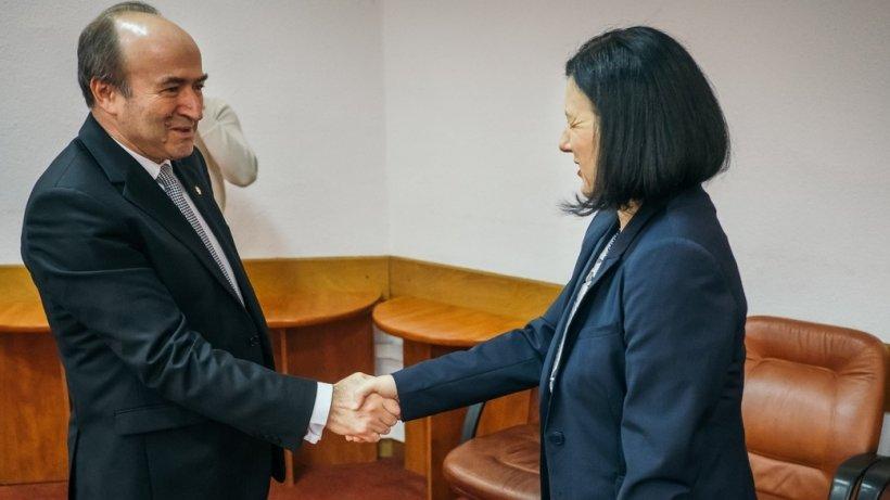 Ce a discutat Tudorel Toader cu comisarul european pentru Justiție
