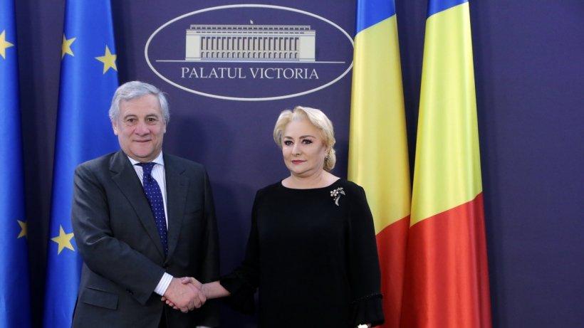 Preşedintele Parlamentului European:A venit momentul săaccelerăm aderarea României la Schengen. Tajani discută acum cu liderii Coaliției