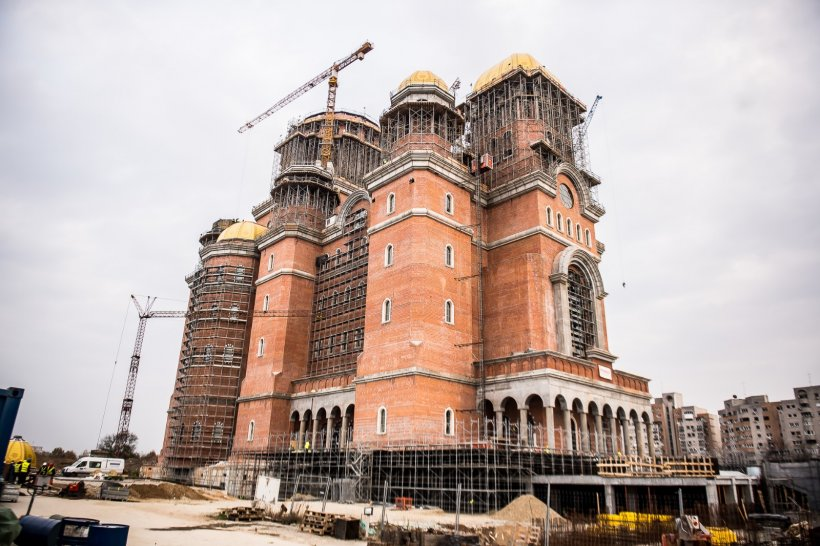 SFINȚIRE CATEDRALA MÂNTUIRII NEAMULUI. Cum arată Catedrala Mântuirii Neamului cu câteva zile înainte de sfințire