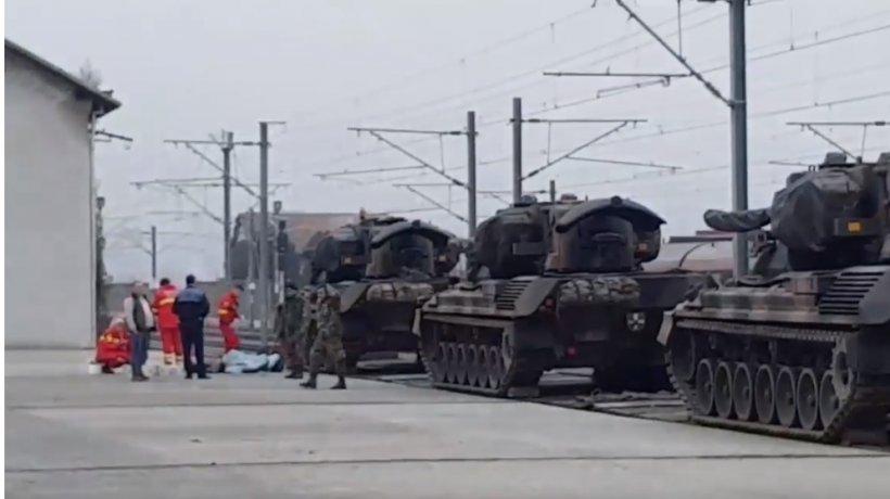 Tragedie înainte de Parada de 1 Decembrie! Un soldat a murit în timpul descărcării unor tancuri