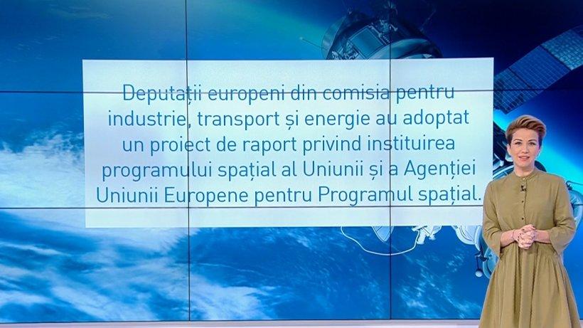 Uniunea Europeană vrea program spațial