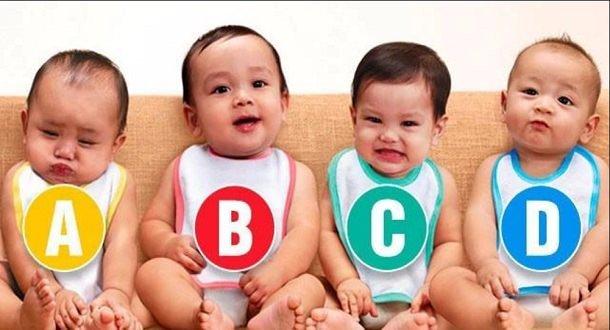 Care dintre bebeluș este fetiță? Acesta este testul simplu care spune multe despre personalitatea ta!