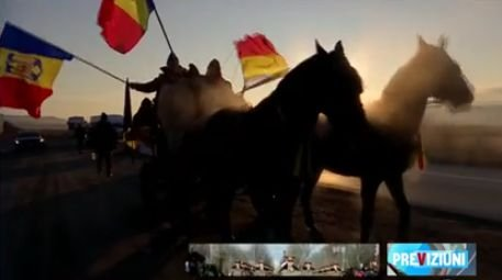 Eroul Zilei. Adrian Bumbar, bărbatul care a decis să străbată kilometri întregi pe cal, aşa cum se mergea acum o sută de ani