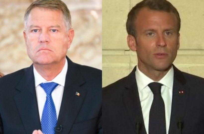 Iohannis: Rușine jandarmilor - Macron: Felicit jandarmii, rușine agresorilor! 817