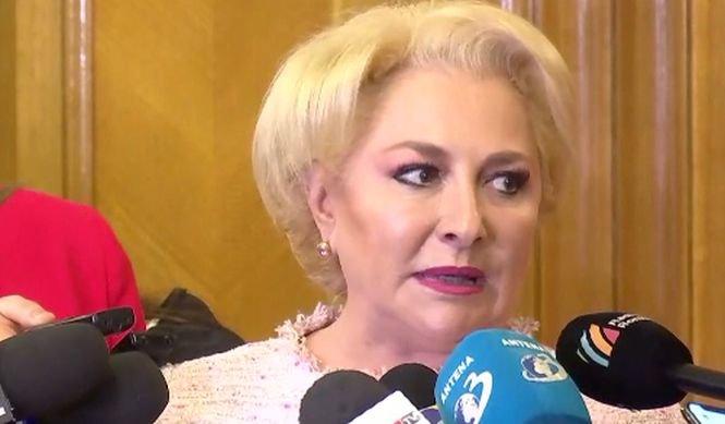 """Viorica Dăncilă: """"Nu îmi e frică de moțiunea de cenzură"""""""