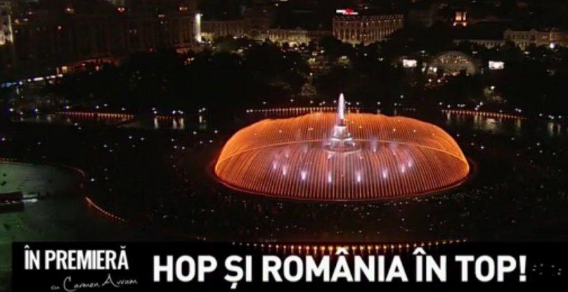 În premieră - Hop și România în top. Povestea Fântânii Unirii