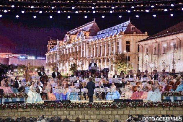 Andre Rieu concertează în premieră în Cluj-Napoca