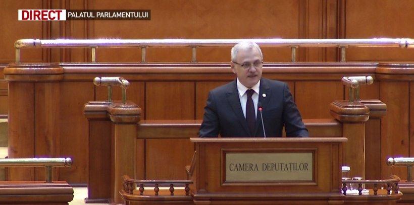 Dragnea, în ședința solemnă: Atacurile politice au mers prea departe 16