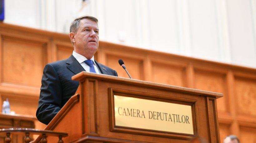Klaus Iohannis atacă majoritatea PSD-ALDE în Parlament: Ascultați vocea românilor, recuplați-vă la interesele naționale