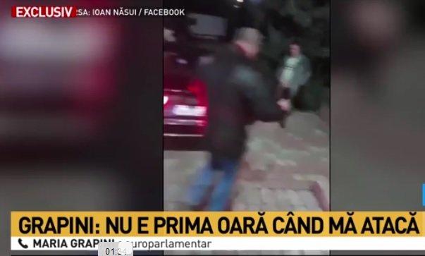 Maria Grapini, agresată de un protestatar. Bărbatul chiar a filmat incidentul și l-a postat pe Facebook VIDEO