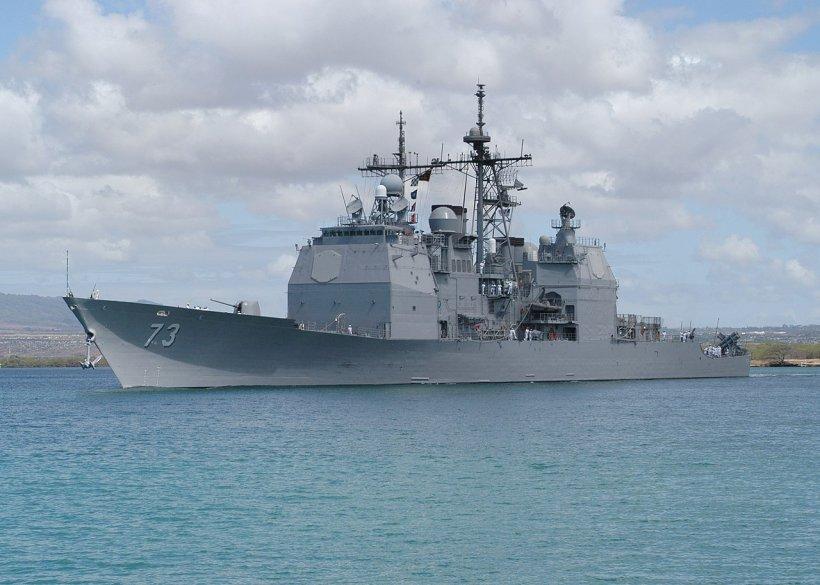 """Navă de război americană, trimisă în Marea Neagră, în contextul tensiunilor dintre Rusia și Ucraina. """"O veste foarte bună pentru România"""""""