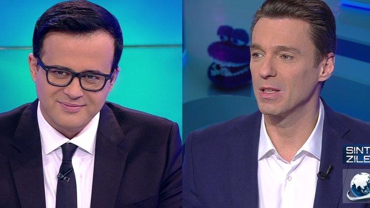 Mircea Badea a făcut din nou show la TV. Cum vorbea la telefon cu Mihai Gâdea când îi asculta SRI