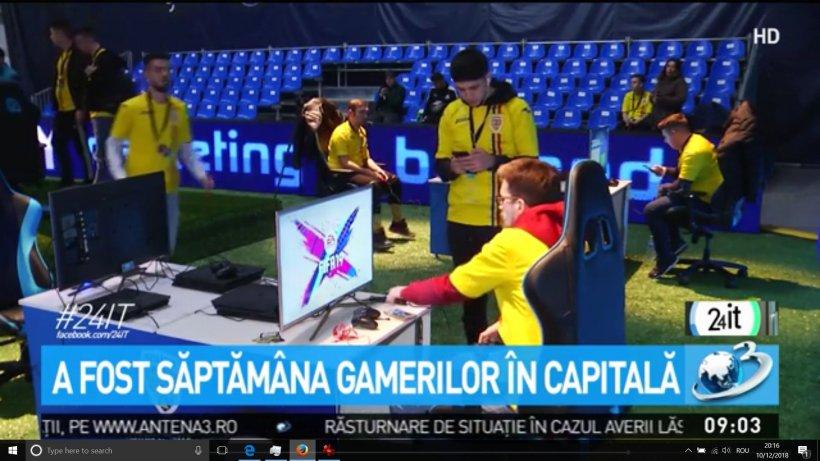 24 IT. Pasionaţii de gaming s-au reunit în Capitală