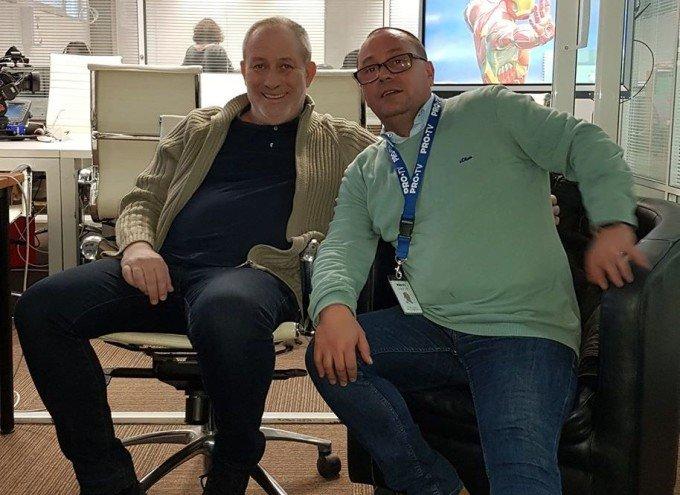 Prima imagine cu Florin Busuioc după infarct! A revenit la locul de muncă
