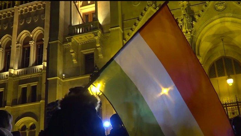 Proteste la televiziunea publică din Ungaria