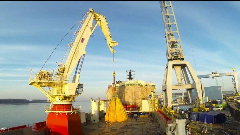 Investiţii masive în şantierele navale româneşti