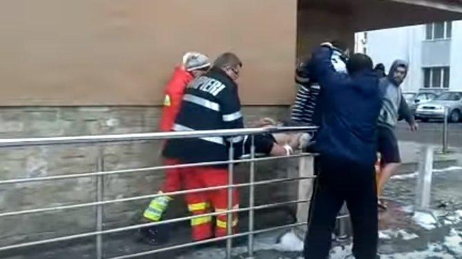 Un ucrainean s-a aruncat de la etajul unui hotel în Constanța - VIDEO