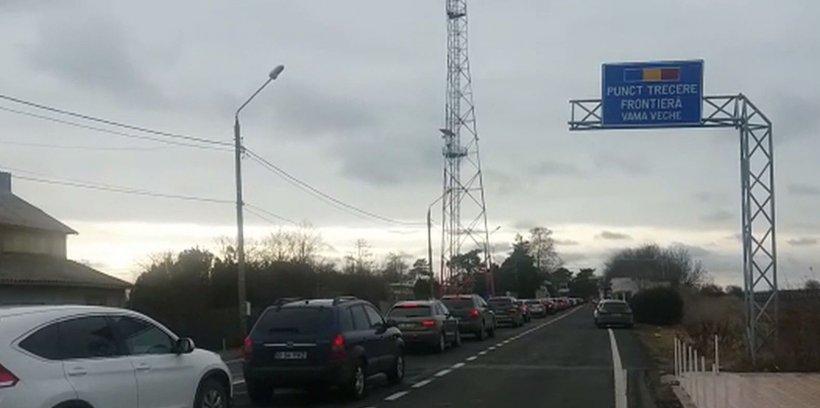 REVELION 2019. Aglomerație la granița cu Bulgaria