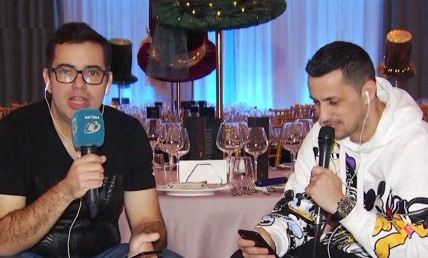 """REVELION 2019. Flick """"Domnul Rimă"""" și Răzvan Popescu de la Radio Zu au compus cele mai inedite urări de Anul Nou pentru telespectatorii Antena 3"""