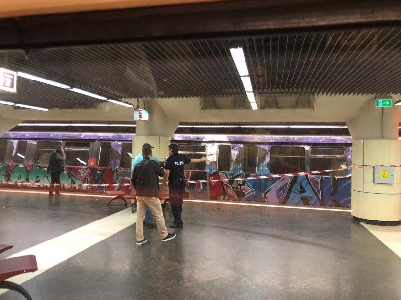 Incident la stația de metrou Costin Georgian. Un adolescent ar fi încercat să se sinucidă