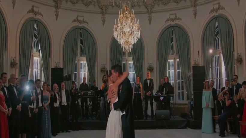 Imagini fabuloase de la nunta fostului principe Nicolae - VIDEO