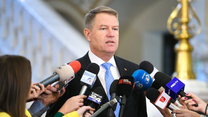 Klaus Iohannis: Nu îl voi revoca pe Augustin Lazăr