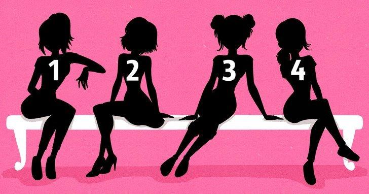 Care crezi că este cea mai de succes femeie din imagine? Alegerea spune multe despre tine