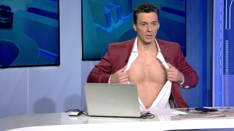 Mircea Badea a început în forţă prima emisiune din an: ''Dacă nici asta nu e tare, nu ştiu, zău!''