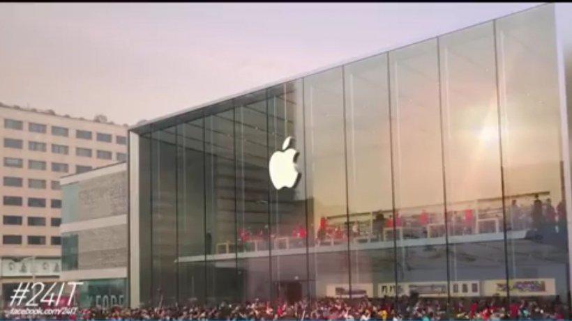 24 IT. Apple a început anul cu scăderi la bursă