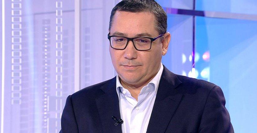 """Victor Ponta vrea ruperea coaliției: """"Dacă Tăriceanu se desprinde de Dragnea, el m-a susţinut în 2014, pot să-l susţin şi eu"""""""