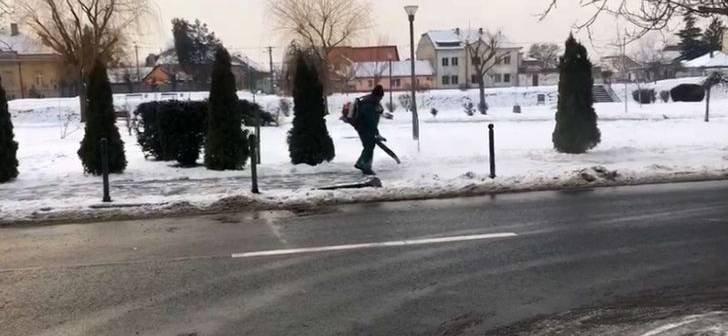 Imagini incredibile în Timișoara! Cum se face deszăpezirea în oraș - VIDEO
