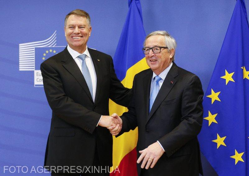 Juncker: Aş vrea să înceteze problemele şi intrigile interne din România. Când prezidezi Uniunea Europeană trebuie să uiţi problemele de politică internă 127