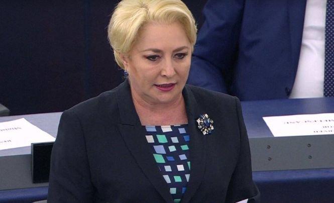 """Viorica Dăncilă, în Parlamentul European: """"Românii resimt un tratament inegal faţă de România"""""""