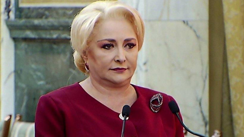 """Viorica Dăncilă răspunde criticilor: """"Nu am niciun act normativ pe masa guvernului referitor la amnistie"""""""
