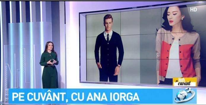 """Pe cuvânt, cu Ana Iorga. Proveniența și forma corectă a cuvântului """"cardigan"""""""